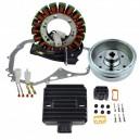 Kit Alternateur Stator Rotor Régulateur Rectifieur Joint Carter Suzuki LTF400 Eiger OEM 32101-38F00 32102-38F00 32102-38F01