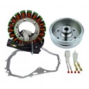 Stator Magneto Flywheel Stator Cover Gasket Suzuki LTF400 Eiger OEM 32101-38F00 32102-38F00 32102-38F01