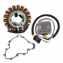 Stator Regulator Rectifier Stator Cover Gasket Polaris RZR900 RZR1000 OEM 4013970 4014029 5813758