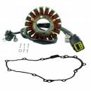 Stator + Stator Cover Gasket Yamaha WR250R OEM 3D7-81410-00-00 3D7-81410-01-00