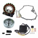 Kit Stator Rotor Regulator Rectifier Mosfet Cover Gasket Suzuki LTF400 Eiger OEM 32101-38F00 32102-38F00 32102-38F01