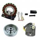 Kit Stator Rotor Régulateur Arctic Cat 375 400 TBX400 TRV400 OEM 3430-054 3430-071 3430-053 0802-037 3402-682 3530-028 3530-059