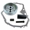 Magneto Flywheel Rotor Gasket Arctic Cat 400 Suzuki LTF400 Eiger OEM 32102-38F00 32102-38F01 3430-054 11483-38F10 3402-768