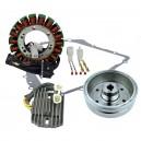 Stator Magneto Flywheel Stator Cover Gasket Arctic Cat 400 OEM 3430-054 3430-071 0802-037 3430-053 3402-682 3530-028 3530-059