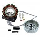 Stator Magneto Flywheel Arctic Cat TBX400 375 Auto 400 Auto Suzuki LTA400 Eiger Auto OEM 3430-054 3430-053 3402-590