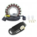Kit Alternateur Stator Régulateur Rectifieur Suzuki Boulevard S83 VS1400 GLP Intruder VS1400 GL Intruder