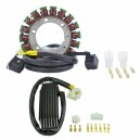 Kit Alternateur Stator Régulateur Rectifieur Suzuki VS 1400 GL Intruder 1987-1995