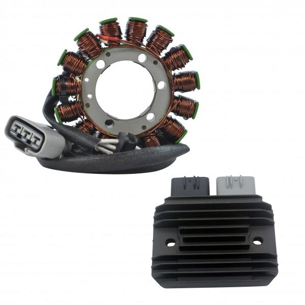 Kit Stator Regulator Rectifier Kawasaki Ninja ZX6R OEM 21003-0083  21066-0028 21066-0731 99999-0377