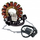 Kit Stator Crankcase Cover Gasket Ignition Coil Yamaha 700 Rhino OEM 5B4-81410-00-00 3B4-15451-00-00 1D7-82310-00-00 5YU-82310-1