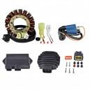 Kit Allumage Stator Boitier CDI Régulateur Rectifieur Bobine HT Yamaha 400 Kodiak 2000-2001