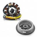 Kit Alternateur Stator Volant Magnétique Rotor Polaris Scrambler 500 OEM 3086984