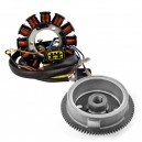 Kit Alternateur Stator Volant Magnétique Rotor Polaris Big Boss 500 OEM 3087168 3085558 3087166 3086819 3086983