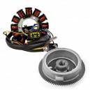 Kit Alternateur Stator Volant Magnétique Rotor Polaris Scrambler 500 2002-2003 OEM 3087168