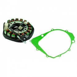 Kit Stator Crankcase Cover Gasket Yamaha 350 Warrior 350 Big Bear OEM 3HN-85510-00-00