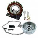 Kit Stator Magneto Flywheel Stator Cover Gasket Suzuki LTF400 Eiger OEM 32101-38F00 32102-38F00 32102-38F01