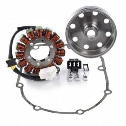 Kit Alternateur Stator Volant Magnétique Rotor Joint Carter Aprilia RSV4 1000 Tuono 1000 V4 Tuono 1100 V4 OEM 897479 2D000049