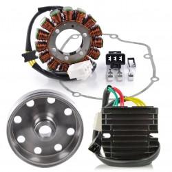 Kit Stator Rotor Kokusan Gasket Regulator Rectifier Mosfet Aprilia RSV4 1000 Tuono 1000 V4 Tuono 1100 V4 OEM 897479 2D000049