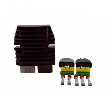 Lithium Ion Batteries Compatible Mosfet Voltage Regulator Rectifier ATV UTV Motorcycle Snowmobile PWC