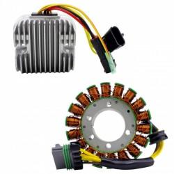 Kit Stator Régulateur Mosfet Polaris Sportsman 800 RZR800 RZR800S Ranger 800 OEM 4011982 4014034 4011399