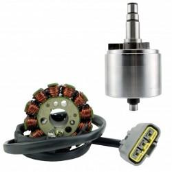Kit Rotor Stator Yamaha FZS1 FZ8 FZ1 YZF R1 OEM 5VY-81450-00-00 2D1-81410-00-00 2D1-81410-01-00 2D1-81410-10-00