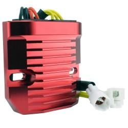 Aluminum Mosfet Regulator Suzuki GSXR600 GSXR750 GSXR1000 GSX1300R VL800 Volusia OEM 32800-18H00 32800-47H00