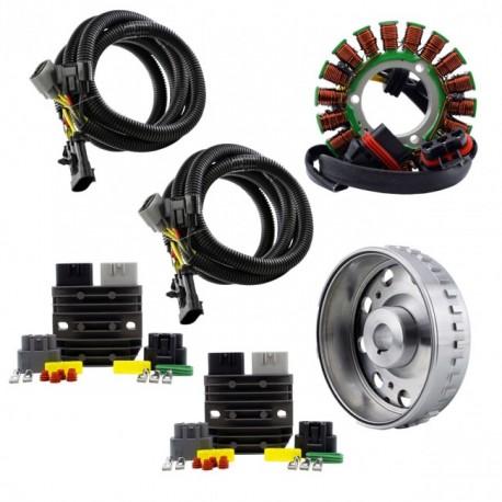 Kit SPLYT Stator Rotor Regulators Polaris RZR900 1000 Ranger 500 570 900 1000 General 1000