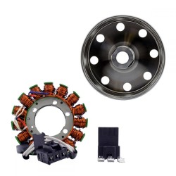 Kit Alternateur Stator Volant Magnétique Rotor Mitsubishi Aprilia Tuono V4 1000 RSV4 1000 Factory RSV4R 1000 OEM 857201