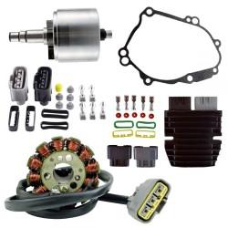 Kit Rotor Stator Regulator Lithium Yamaha FZS1 FZ8 FZ1 YZF R1 OEM 5VY-81450-00-00 2D1-81410-00-00 2D1-81410-01-00