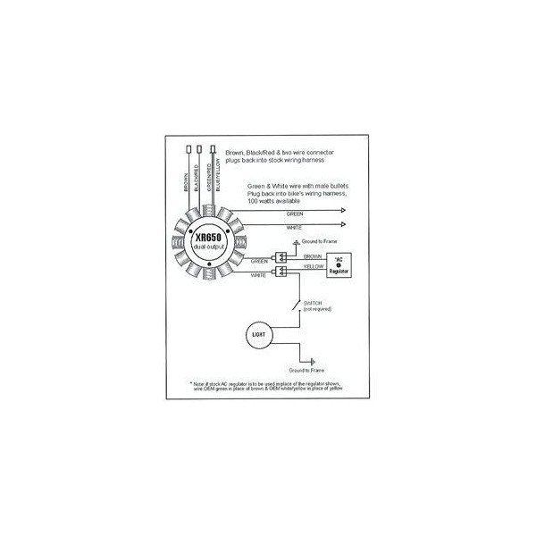 Stator Honda XR400R XR650R OEM 31120-KCY-671 31120-MBN-671 on lighting diagrams, hvac diagrams, smart car diagrams, gmc fuse box diagrams, internet of things diagrams, pinout diagrams, troubleshooting diagrams, friendship bracelet diagrams, switch diagrams, honda motorcycle repair diagrams, engine diagrams, transformer diagrams, motor diagrams, led circuit diagrams, electrical diagrams, sincgars radio configurations diagrams, series and parallel circuits diagrams, electronic circuit diagrams, battery diagrams,