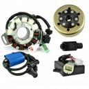 Kit Stator 100 W Rotor CDI Ignition Coil Yamaha 350 Banshee OEM 3GG-85540-10-00 2GU-85550-50-00 3GG-85550-00-00