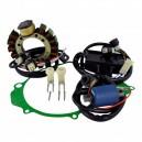 Kit Ignition Stator Ignition Coil CDI Stator Cover Gasket Yamaha 350 Warrior OEM 3HN-85510-00-00 3GD-85540-20-00