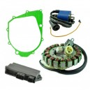 Kit Stator Cover Gasket CDI Ignition Coil 350 Raptor 350 Warrior OEM 5FU-81410-00-00 5NF-81410-00-00 5NF-85540-00-00