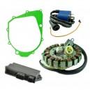 Kit Stator Cover Gasket CDI Ignition Coil 350 Raptor 350 Warrior OEM 5FU-81410-00-00 5NF-81410-00-00 5NF-85540-00-00