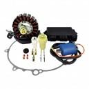 Kit Stator Ignition Coil CDI Cover Gasket Yamaha 660 Raptor OEM 5LP-85540-20-00 5LP-81410-00-00 5LP-81410-01-00 5LP-81410-02-00
