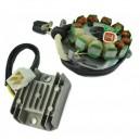 Kit Stator 200 Watts Régulateur Rectifieur Yamaha 350 Banshee OEM 3GG-85510-00-00 3GG-85510-01-00
