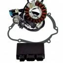 Stator CDI Box Cover Gasket Honda TRX450R OEM 31120-HP1-60130410-HP1-841 11395-HP1-600