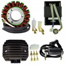 Stator CDI Regulator Ignition Coil Kawasaki KLF300 Bayou OEM 21003-1173 21003-1276 21066-1055 21119-1241 21119-1302